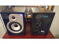 Stanton ATM 6 Dj /production monitors speakers