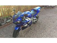 Yamaha R1- well sought after bike with low mileage