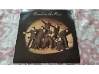 PAUL McCARTNEY AND WINGS WITH BAND ON THE RUN vinyl L/P