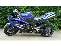 Yamaha R1 with only 5000 miles since new in BRAND NEW CONDITION