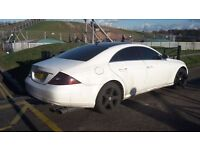 WHITE MATTE MERCEDES CLS-BRABUS DESIGNE FOR HIRE WITH SHAUFFEUR