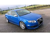 2006 AUDI RS4 SALOON 4.2 V8 QUATTRO SPRINT BLUE TOP SPEC+++LOW MILEAGE++
