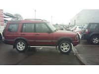 LANDROVER DISCOVEREY TD5 7 SEATER, FACELIFT MODEL .NOT SUSUKI,FORD,HYUNDAI,TOYOTA,