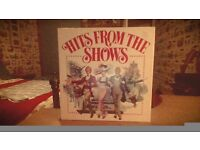 ''Hits From The Shows''- Vinyl Collection (Good Condition)