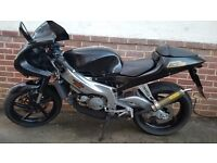 Aprilia rs 125 with full power band
