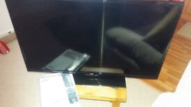39 inch jvc tv for sale