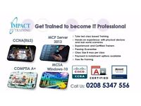 Guaranteed! 1st/2nd Line Job Comptia A+, Windows-Server, Windows-10, CCNA (R&S)