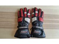 Used Motorbike Gloves Leather SWIFT Pole Size M