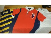 Men's designer polo shirts and tshirts Ralph Lauren g star bargain quick sale