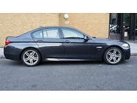BMW 5 Series 3.0 530d M Sport 2011 Diesel 8-Speed Auto Gears 19 INCH ALLOYS WIDE SCREEN FSH £14,600