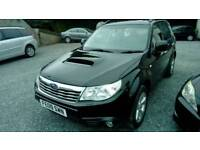 09 Subaru Forester 4WD Diesel 5 Door 12 Mrs MOT All Leather Trim Can be seen anytime