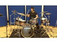 Drum Lessons - Professional Drummer - Home visits