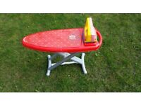 LOVELY CHILDS PLASTIC PLAY IRONING BOARD & IRON from PLAY & PRETEND