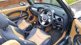 Mini Cooper S Convertible 1.6 (170BHP) Yellow Leather, Manual, Xenon