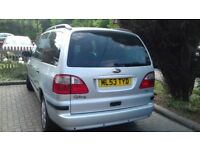 Ford Galaxy 7 seater Silver, Diesal, 6 speed 200K