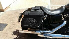 Motorcycle soft luggage - medium sized