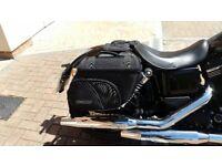 Motorcycle soft luggage - medium sized