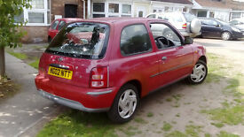 Nissan Micra 1.0 litre - 2002 MOT september plus another complete car for spares or repair **LOOK**