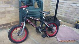 Childs BMX Bike (with stabilisers)