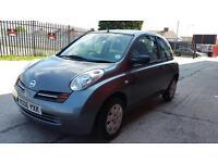 2006 nissan micra 1.2 petrol 3 door hatchback 12 months mot genuine low mileage