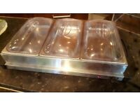 Counter top Hostess food warmer