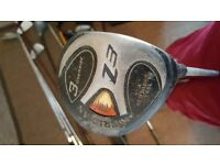 GOLF CLUB. 3 - Meridian Z3 oversize 17.4 stainless steel. AVERAGE CONDITION
