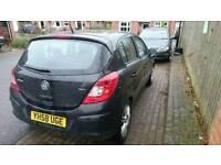 Vauxhall Corsa Design 1.3 CDTI diesel black 5 door 60+mpg