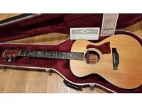 Taylor 412 Guitar with Fishman Pickup (Pinless Bridge) - WATCH THE DEMO!