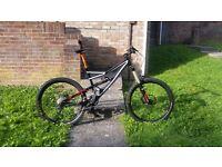 Specialized Status I FSR Downhill Jump Free Ride Enduro Mountain Bike £££s spent