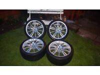 BMW MV3 Alloys 5x120 8Jx18 ET34 8.5Jx18 ET37