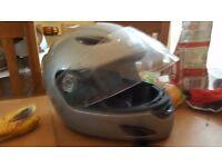 Childs motorbike helmet