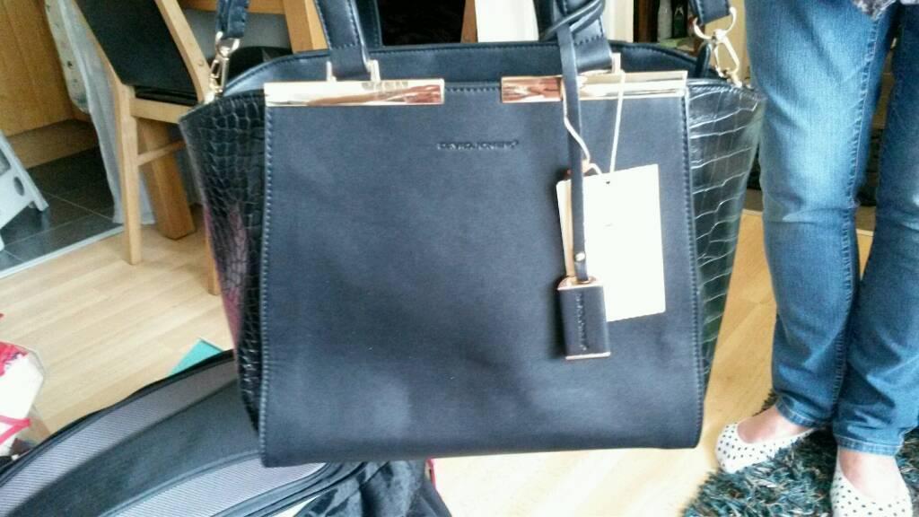 Beautiful Black David Jones Handbag