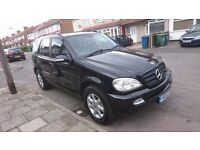 Mercedes Benz M Class 3.2 Petrol/LPG, 7 seater for sale