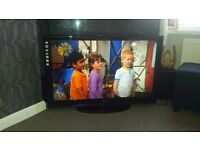 42 inch sanyo tv built in freeview
