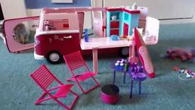 Barbie picnic Van