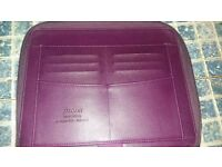 Genuine Filofax iPad Case with Diary