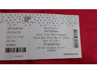 Skindred ticket (Nottingham)