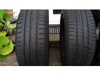 4 tyres 195/55/16 Michelin Energy Saver almost new!