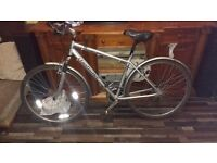 Claud Butler Odyssey hybrid suspension bike with upgrades/accessories