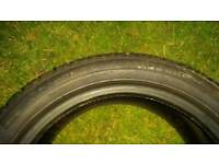 225/45R17 winter tyres in good condition