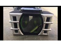 Fusion Sub and amp /bass box