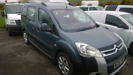 citroen berlingo multi-space m-sp xtr hdi 90, 2008 registration, 1600 cc turbo diesel, 61,000 miles