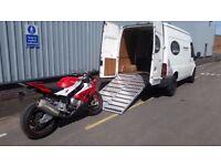 24 Hour Motorcycle Transport / Recovery / Tyre Repairs / Motorbike Bike Breakdown / Scooter