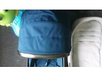 baby seat unit/ carry cot