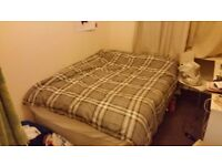 Double duvet/covers + 2 pillows, barely used