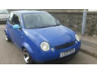 vvw lupo 1.4 petrol mega reduced first 550 drives away