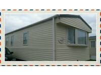 Modern extra wide caravan for rent at Trecco Bay Holiday Park Porthcawl.