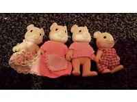 sylvanian mice family