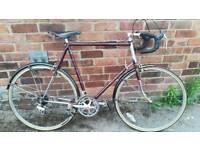 Vintage raleigh 531 classic bike