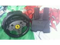 Playstation steering wheels and pedals